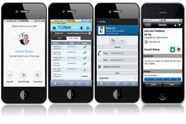 Mobile apps for managing people