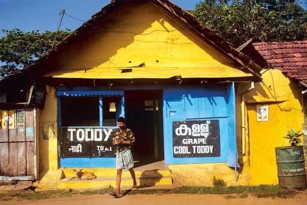 A toddy shop in Kochi, Kerala. Photo: Simon Reddy/India Picture