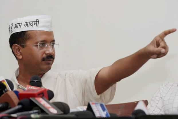AAP leader Arvind Kejriwal said the party will approach the Election Commission on the horse-trading issue. Photo: PTI