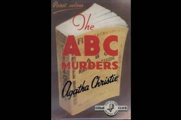One of Agatha Christie's classics in which Poirot receives typed letters signed by A.B.C,  each giving clues of the next murder.  www.agathachristie.com