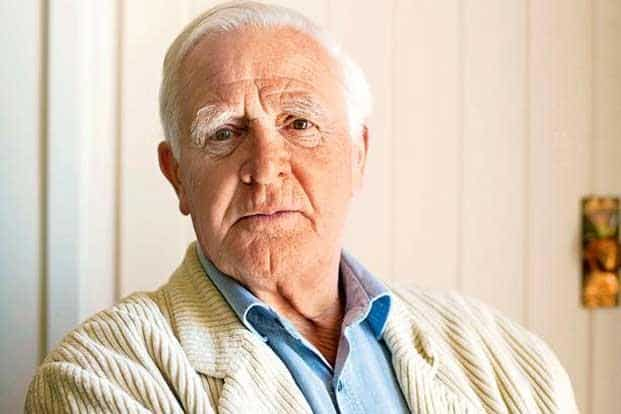 Author John le Carré drew on his career as a former spy. Photo: Cristian Barnett/Hodder-Stoughton/Bloomberg