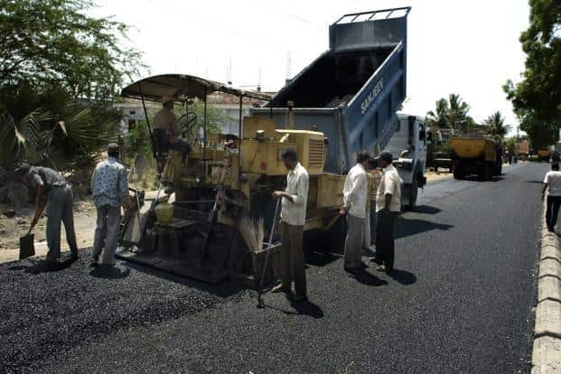 To be sure, cement will be used as the raw material for the road project unless the government-appointed consultant for evaluating the project makes a case against it. Photo: Mint