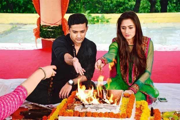 A scene from 'Ek Hasina Thi' on Star Plus.