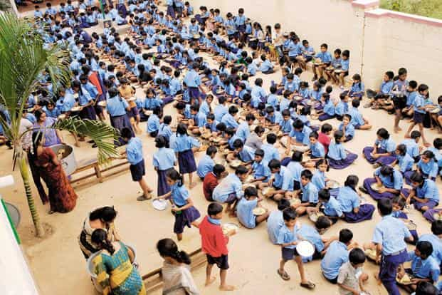 In primary education, where enrolment rates have increased significantly but retention of students in schools remains a challenge in most parts of India, Maharashtra does much better than the rest of India. Photo: Hemant Mishra/Mint
