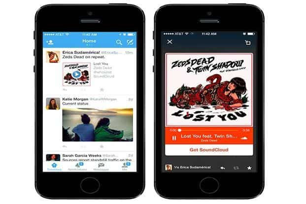 Audio Cards will allow users to listen to music, podcasts or any other audio content directly from a Twitter timeline.
