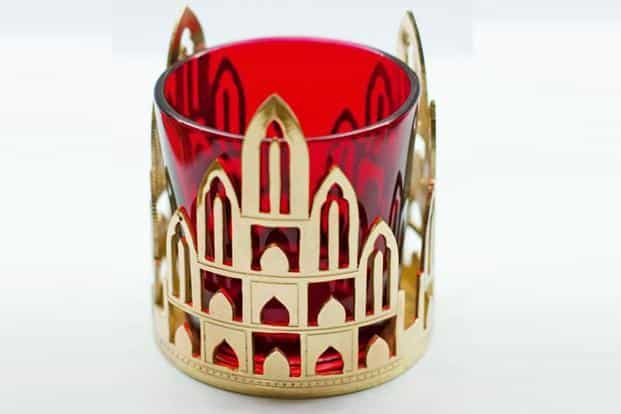 Bengal tea light, Rs2,099, at Sahil Sarthak.