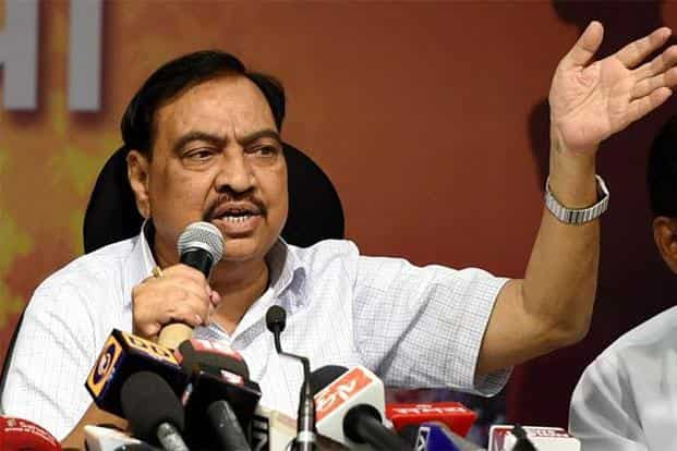 Leader of Opposition in the outgoing assembly and senior BJP leader Eknath Khadse won from Muktainagar. PTI