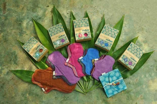 Washable Cloth Pad from Eco Femme. Photo: Courtesy Eco Femme