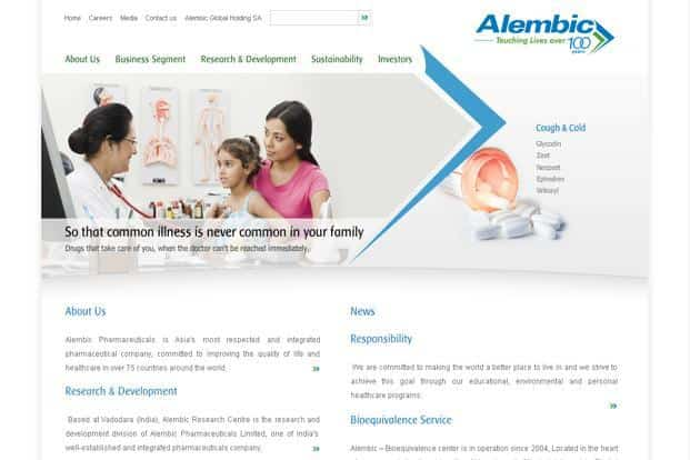 Alembic Pharma to form JV with Algeria's Adwiya Mami