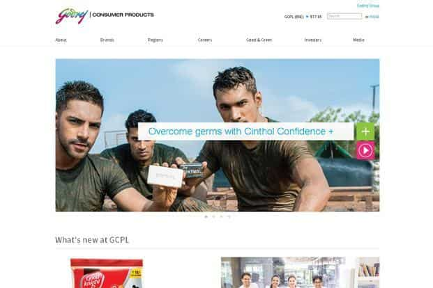 For Godrej Consumer Products Ltd (GCPL), the packaged consumer goods division, the focus is on premium products for online sales.