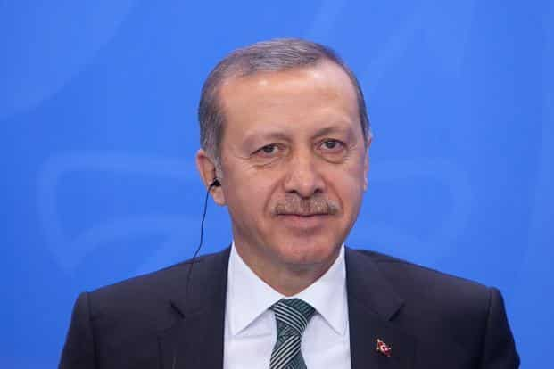 A leader who describes himself as an observant Muslim and a conservative politician, Erdogan often cited Islam to explain his views on the place of women in Turkish society. Photo: Bloomberg