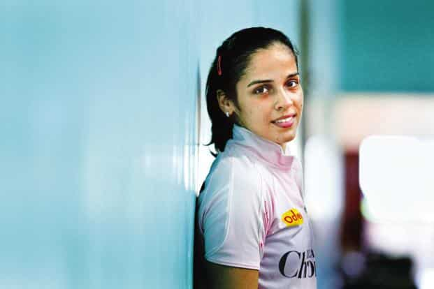 Saina Nehwal says sponsors are hard to be found. Sportsperson who get sponsors' attention are lucky and are few in number, she says. Photo: Hindustan Times