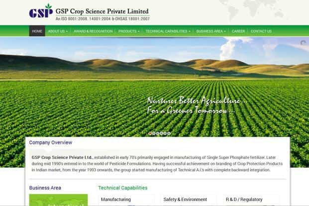 Oman-India fund invests Rs95 crore in GSP Crop Science