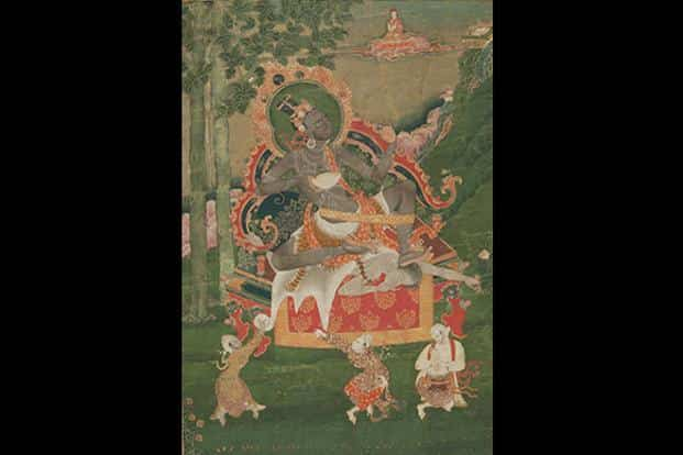 Virupa: According to legend, Virupa, a 9th century follower of the teachings of the dakini Vajravarahi, consumed 500 elephant loads of spirits over two and a half days of unremitting sunshine, before the local king was persuaded by the people to settle his bill to prevent crops and livestock from perishing in the heat.