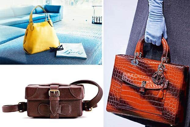 806806ba9723 ... from right) A Lady Dior bag from Dior Autumn Winter 2014