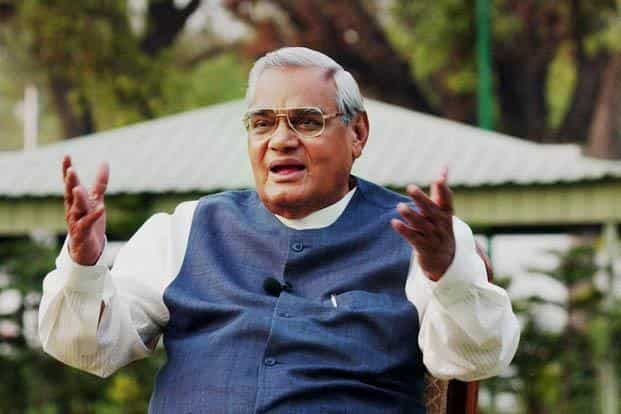 Atal Bihari Vajpayee was the first Prime Minister from outside the Congress party to serve a full five-year term. Photo: PTI