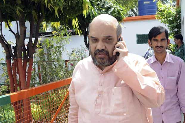 Special CBI court drops charges against BJP chief Amit Shah in Sohrabuddin Sheikh encounter case. File photo: Hindustan Times