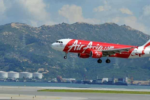 Indonesia AirAsia's Flight QZ8501 lost contact with air traffic control early on Sunday during bad weather from Surabaya to Singapore. Photo: AFP