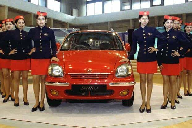 Santro was launched in 1998 in India. The car, with the distinctive tall boy body frame challenged the monopoly enjoyed for more than a decade by Maruti Zen and Maruti 800. Reuters