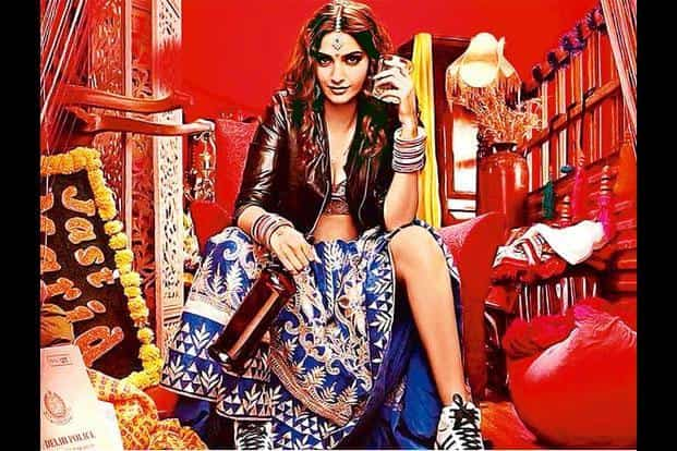 Sonam Kapoor plays Dolly, a thieving bride who charms men into marriage and then robs them on their wedding night.