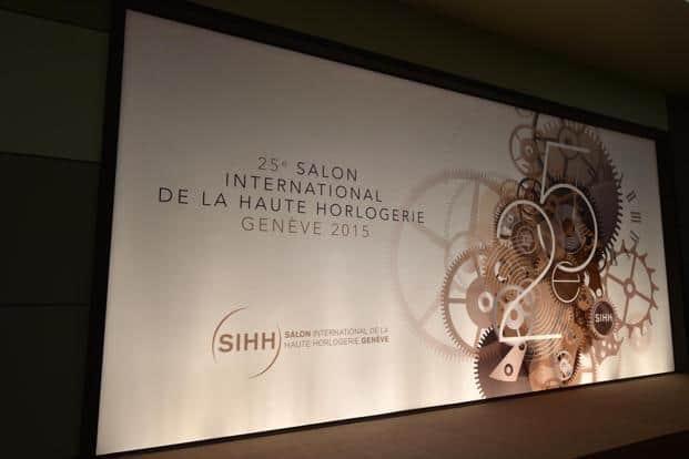 Salon International de la Haute Horlogerie (SIHH) celebrated its 25th anniversary this year.  Image © SIHH 2015