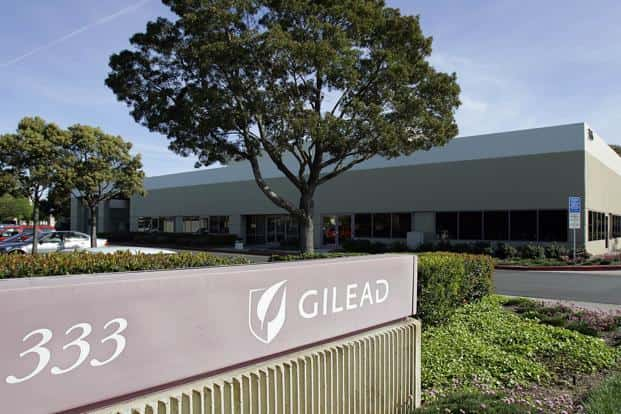 The medicine manufactured by Gilead costs $1,000 a pill and cures hepatitis C in 90% of the cases when given for a 12-week course. Photo: Bloomberg