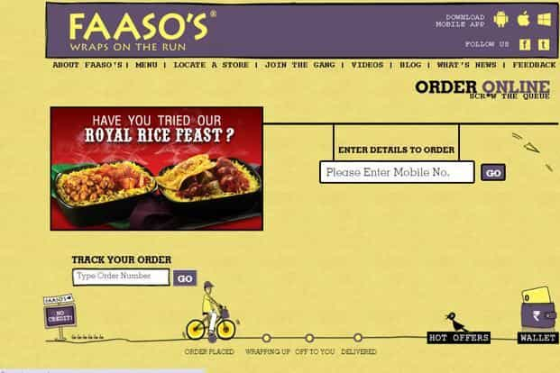 Faaso's has moved away from being a fast food to almost a food delivery company.