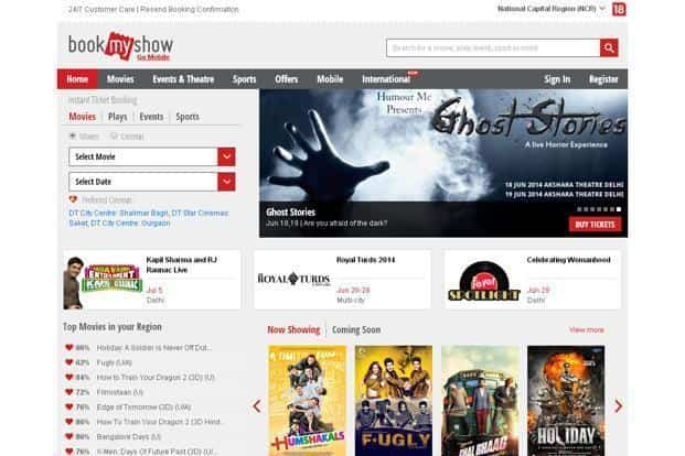 BookMyShow is the flagship brand of BigTree Entertainment.