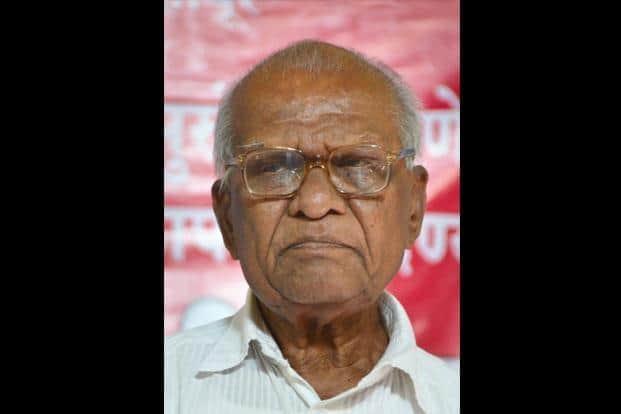 A file photo of CPI's veteran leader Govind Pansare. Photo: PTI