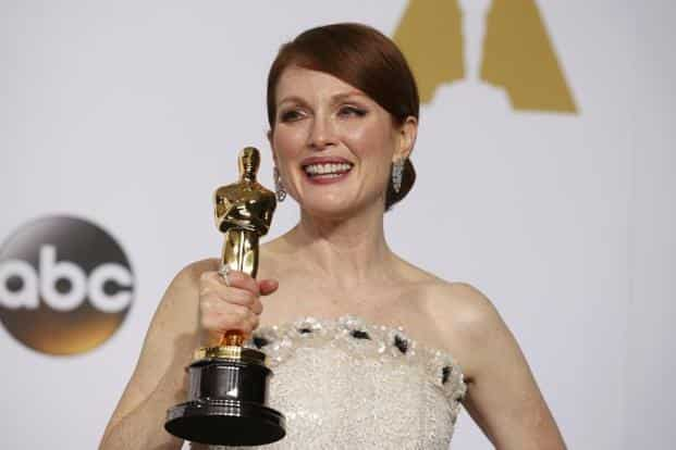 Julianne Moore won the best actress award for her role in 'Still Alice'. She too had won the Golden Globe for 'Still Alice'. Reuters