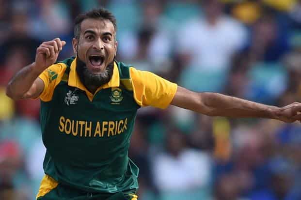 Imran Tahir took home his second-best ODI bowling figures on Wednesday. Photo: AFP
