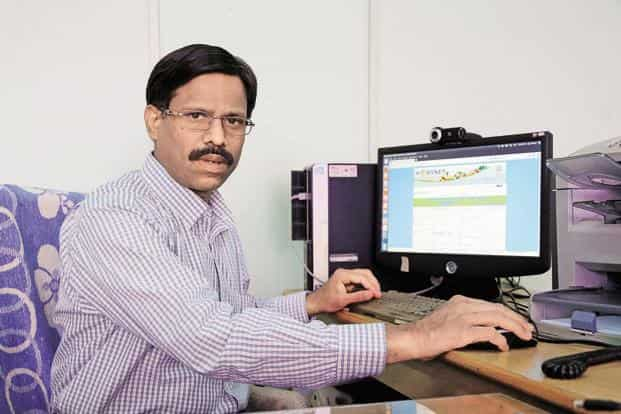 K. Rajasekhar, deputy director general at National Informatics Centre which developed Hortnet, says the solution can be expanded to integrate different farmer-related schemes. Photo: Kumar/Mint