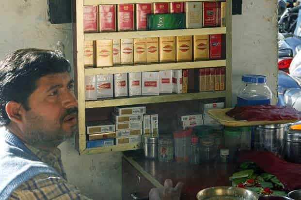 The health ministry had on 15 October announced that the new pictorial health warnings for tobacco products from 1 April 2015. Photo: AFP