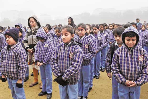 Achieving parity: This year, India is predicted to be the only country in South and West Asia to have an equal ratio of girls to boys in both primary and secondary education, according to Unesco. Photo: Vipin Kumar/HT