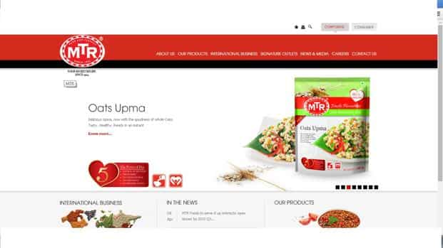 MTR Foods to build own e-tailer platform