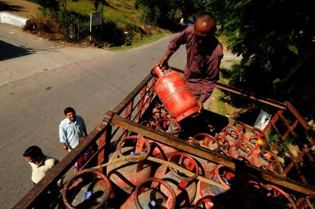 The petroleum subsidy is estimated at Rs30,000 crore for 2015-16, 50.22% less than the revised estimate of Rs60,270 crore for 2014-15. Photo: Pradeep Gaur/Mint