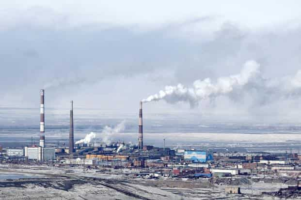 Norilsk, Russia: The world's northernmost city sees around 1,000 tonnes of copper and nickel oxides, and 2 million tonnes of sulphur dioxide released into the atmosphere annually, with deadly health impact and life expectancy reduced by 10 years. Reuters