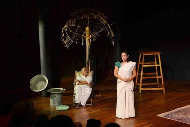 An earlier staging of the play, 'Under The Mangosteen Tree'