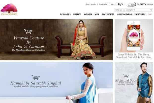 IndianRoots.com was launched in mid-2013 and has over 100 designers and 700+ brands on its online marketplace.