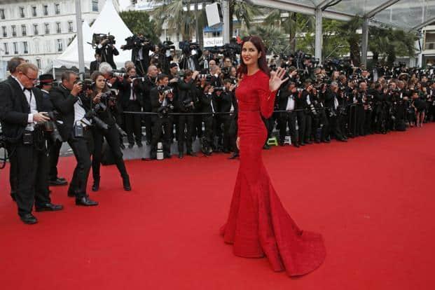 Katrina Kaif On The Red Carpet