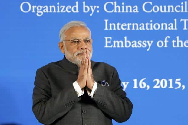 Narendra Modi leaves China