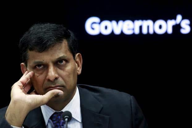 A file photo of RBI governor Raghuram Rajan. Photo: Reuters