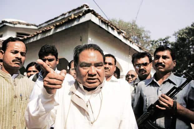 A file photo of Salwa Judum leader Mahendra Karma. Photo: AFP