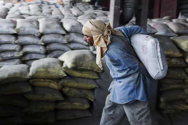 The cement maker's revenue fell 7.2%, to Rs1,043 crore from Rs1,124.6 crore. Photo: Bloomberg