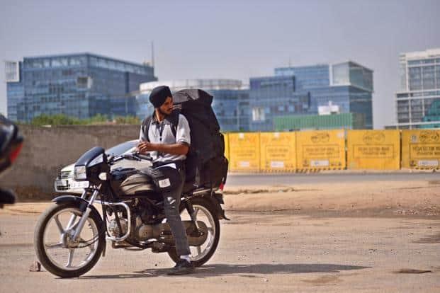 Jasvinder Singh from Amazon in Cyber City, Gurgaon. Photo: Pradeep Gaur/Mint