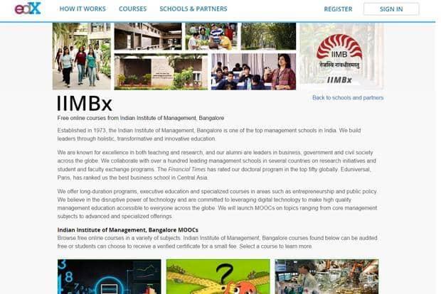 Fantastic Iim B Partners Edx To Offer Online Courses Interior Design Ideas Philsoteloinfo