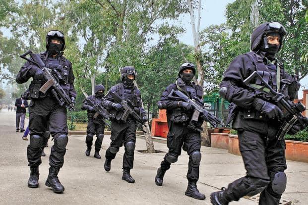 A file photo of National Security Guard commandos. Photo: Sanjeev Verma/Hindustan Times