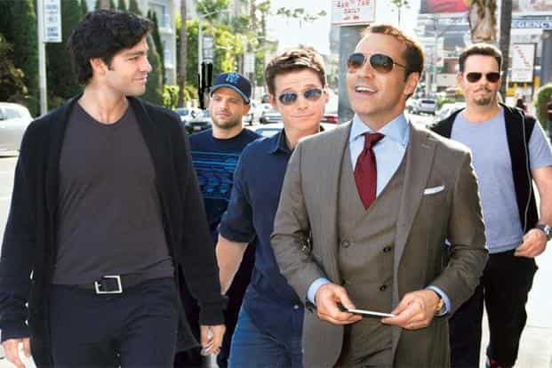 A still from 'Entourage'
