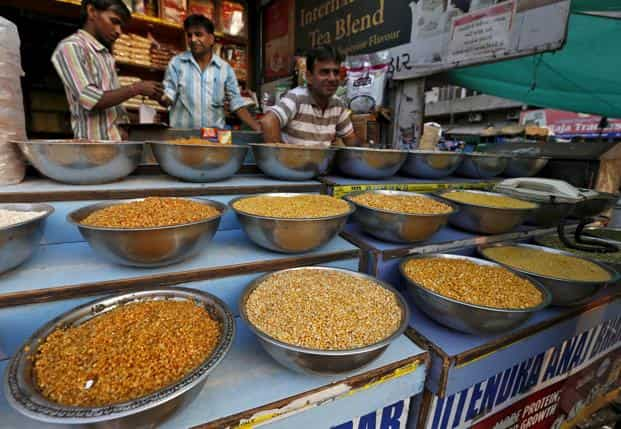 There has been an increased volatility in agricultural commodities since March because of uncertainties around monsoon  and the unseasonal rain in Gujarat and Rajasthan. Photo: Reuters
