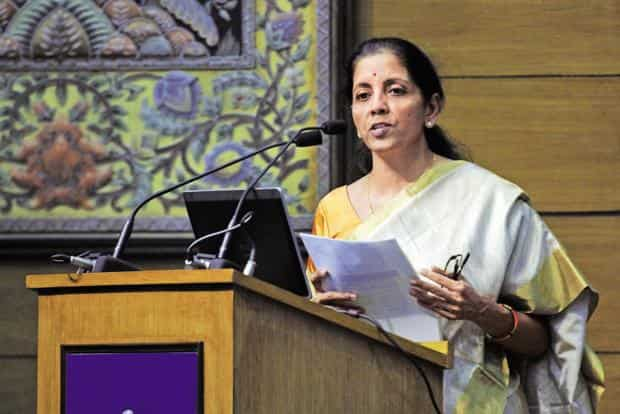 A file photo of trade minister Nirmala Sitharaman. Photo: Sonu Mehta/Hindustan Times